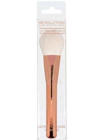 Makeup Revolution Ultra Metals Pędzel do pudru Flawless Powder Brush F301