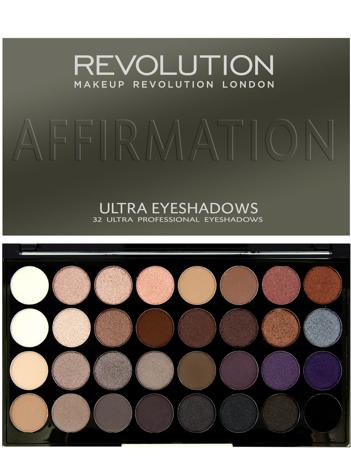 Makeup Revolution Ultra Palette Paleta 32 cieni Affirmation 16g