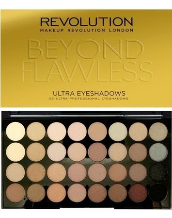 Makeup Revolution Ultra Palette Paleta 32 cieni Beyond Flawless 16g
