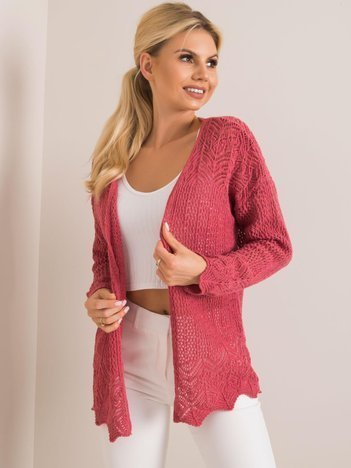 Malinowy sweter Francesca RUE PARIS
