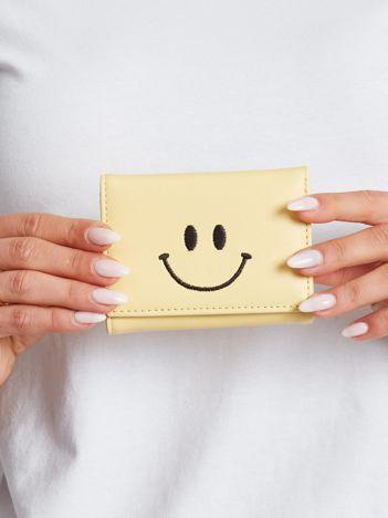 Mały żółty portfel