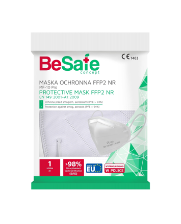 "Marion BeSafe Concept Maseczka medyczna FFP2  MF-10 Pro 1szt"""