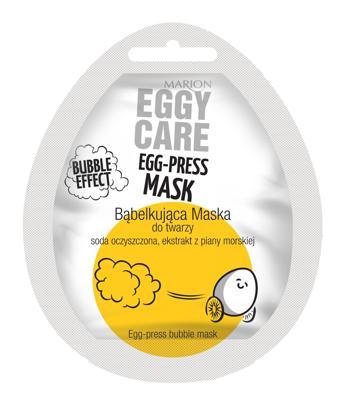 """Marion Eggy Care Maska na twarz bąbelkująca  4g"""""""