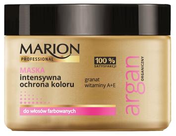 Marion Professional Argan Organiczny Maska do włosów intensywna ochrona koloru 450 g