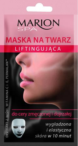 Marion Spa Maska na twarz liftingujaca na tkaninie 15 ml