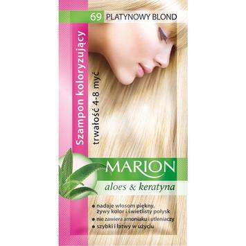 """Marion Szampon koloryzujący 4-8 myć nr 69 platynowy blond"""""""