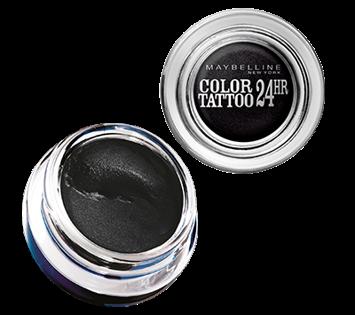 Maybelline Color Tattoo 24H Kremowo-żelowy cień do powiek nr 60 Black 4 ml