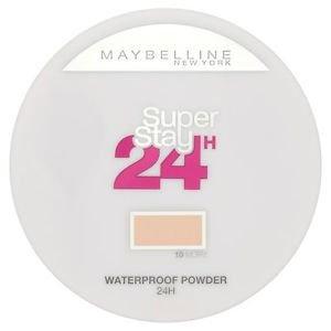 Maybelline Super Stay 24 Longwear Matte Powder Waterproof puder matujący 10 Ivory 9g
