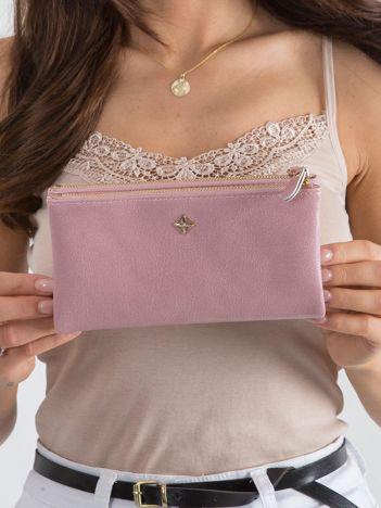 Miękki portfel różowy