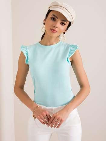 Miętowa bluzka Figure RUE PARIS