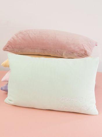 Miętowa podłużna poduszka