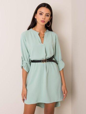 Miętowa sukienka Stella