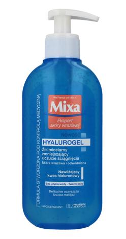 """Mixa Żel micelarny zmniejszający uczucie ściągnięcia Hyalurogel  200ml"""""""