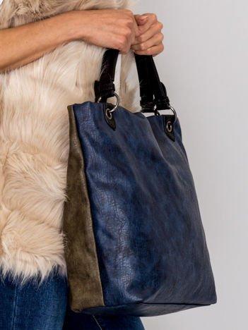 Modułowa miękka torba ciemnobeżowa