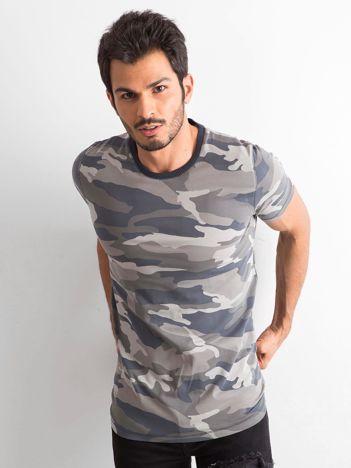 Moro t-shirt męski z bawełny