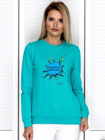 Morska bluza PRZY WEEKENDZIE BYWAM WSZĘDZIE by Markus P
