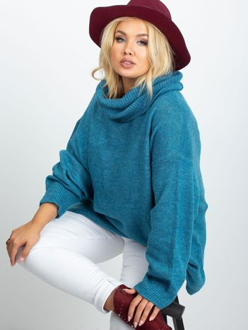 Morski sweter plus size Poline