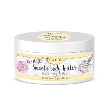 NACOMI Lekkie masło do ciała – Miodowe gofry, 100g