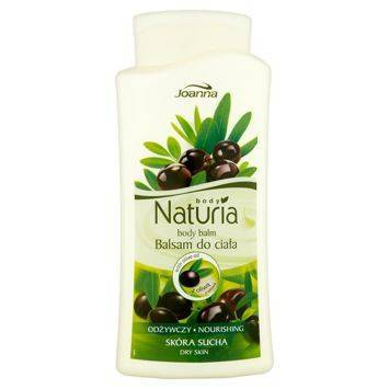 NATURIA Balsam do ciała Odżywczy z oliwą z oliwek  500g