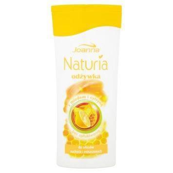 NATURIA  Odżywka z miodem i cytryną 200g