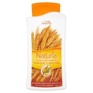NATURIA Szampon 2w1 do włosów suchych i zniszczonych z pszenicą 500ml