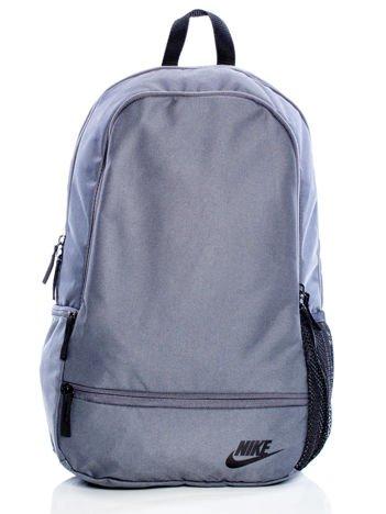 NIKE Szary plecak CLASSIC NORTH BACKPACK z suwakami