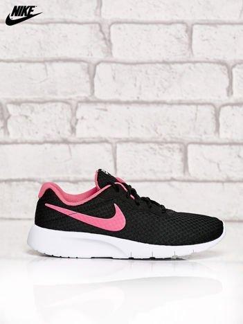 NIKE czarne buty sportowe Tanjun GS z siateczką
