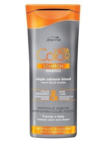 NOWOŚĆ! Joanna ULTRA Color SYSTEM Szampon ciepłe odcienie blond 200 ml