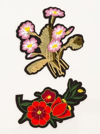 Naprasowanka - doskonała ozdoba odzieży 2 szt. (wymiary: 10,5 x 9,5 cm + 5 x 9,5 cm)