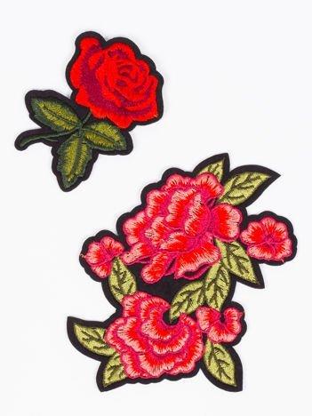 Naprasowanka - doskonała ozdoba odzieży 2 szt. (wymiary: 11 x 9 cm + 7 x 6 cm)