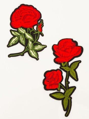Naprasowanka - doskonała ozdoba odzieży (wymiary: 12 x 8 cm +  9 x 6 cm)