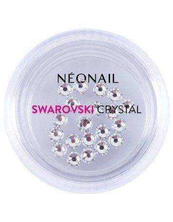 NeoNail Cyrkonie Swarovski SS10 (L) Crystal 20 szt.