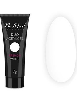 NeoNail DUO ACRYL GEL FRENCH WHITE 7 g