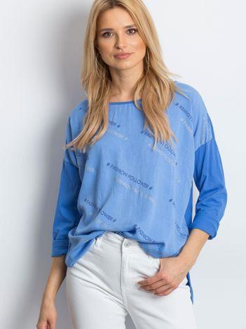 Niebieska bluzka Conversation