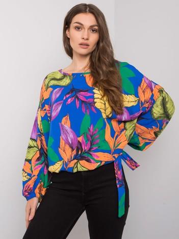 Niebieska bluzka oversize Ainara