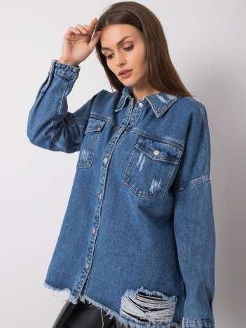Niebieska koszula jeansowa Tamara
