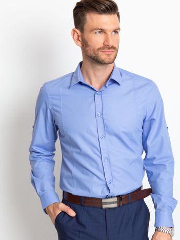 Niebieska koszula męska Rodrigo