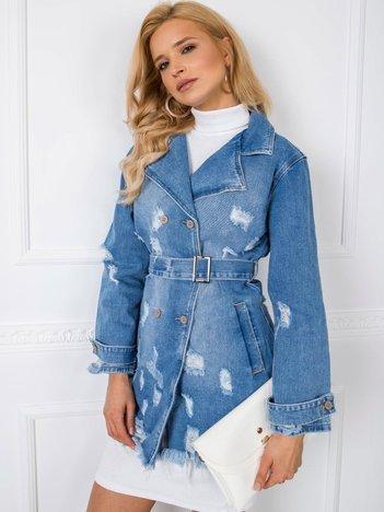 Niebieska kurtka Cynthie