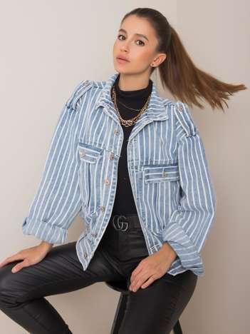Niebieska kurtka jeansowa Lola