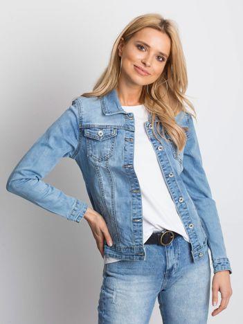 Niebieska kurtka jeansowa Mileage