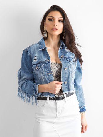 Niebieska kurtka jeansowa Specious