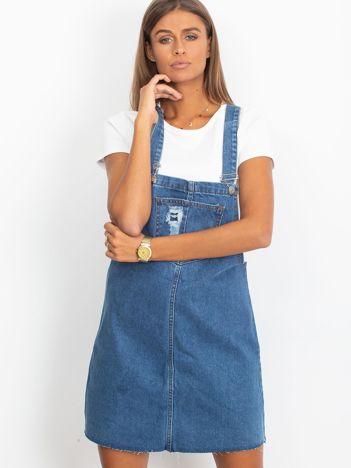 Niebieska spódnica Upper
