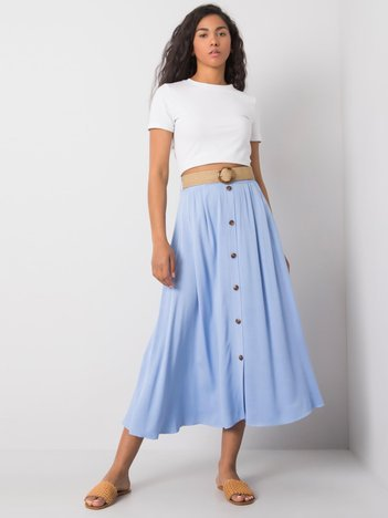 Niebieska spódnica Yamina