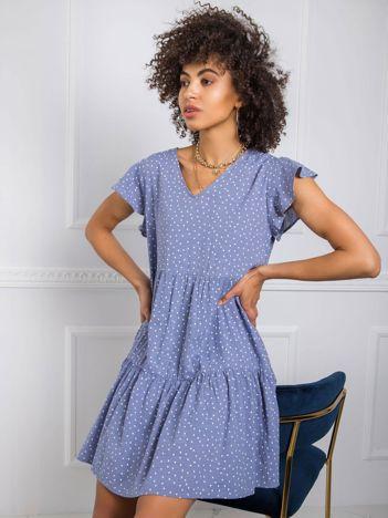 Niebieska sukienka Moe RUE PARIS