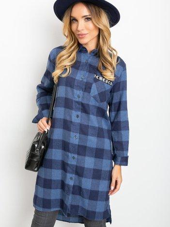 Niebieska sukienka Paradox