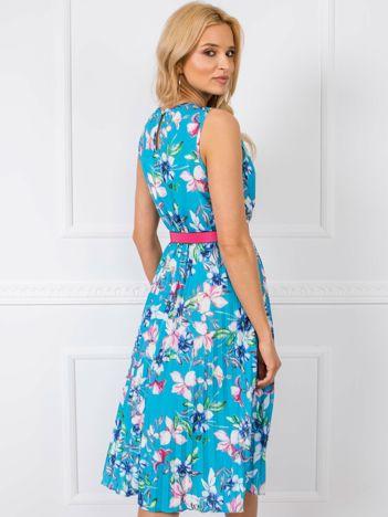 Niebieska sukienka Since RUE PARIS