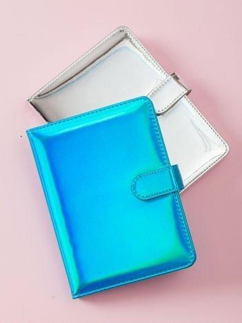 Niebieski lustrzany notes