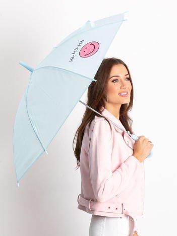 Niebieski parasol półautomatyczny