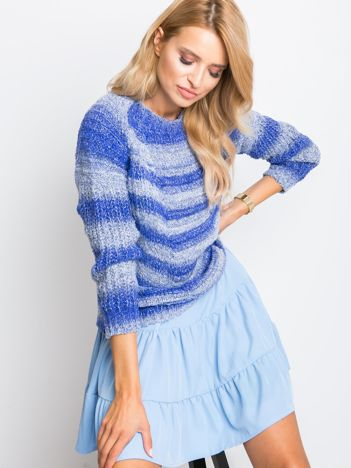 Niebieski sweter Amber