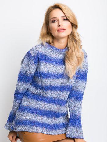 Niebieski sweter Esta